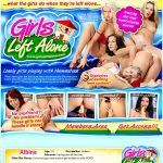 Girls Left Alone Credit Card