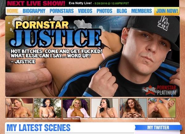Real Pornstarjustice.com Accounts