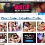 Busted Babysitters With No Credit Card