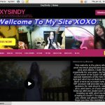 Free Sxysindy.modelcentro.com Porn Accounts