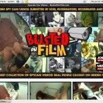 Get Busted On Film Trial Membership