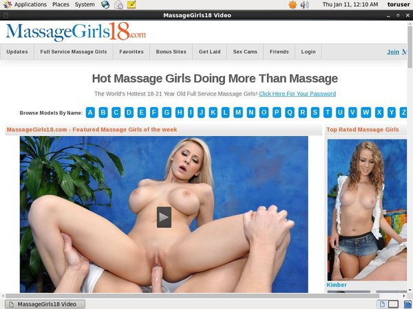 How To Get On Massage Girls 18 For Free