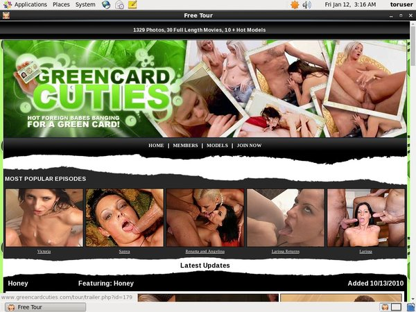 Green Card Cuties Photos