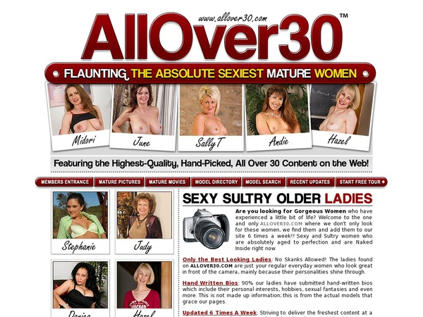 All Over 30 Original Free Trial Price