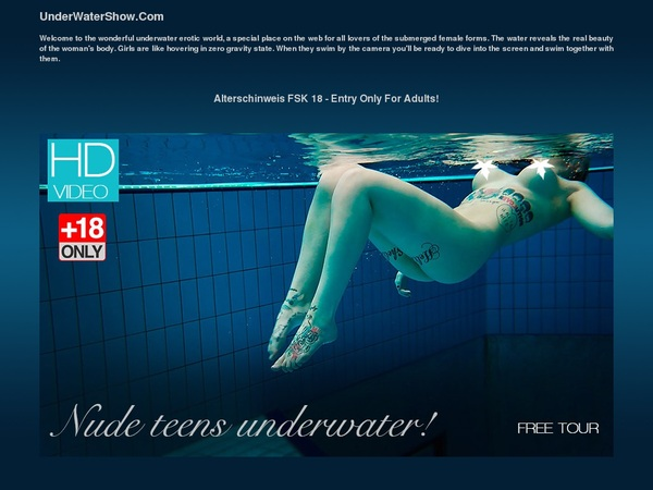Using Paypal Underwatershow
