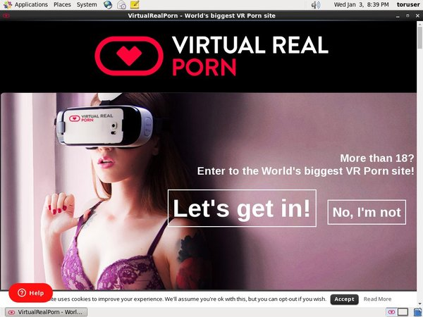 Virtual Real Porn 安売り