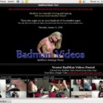 Free Accounts Badmanvideos.com