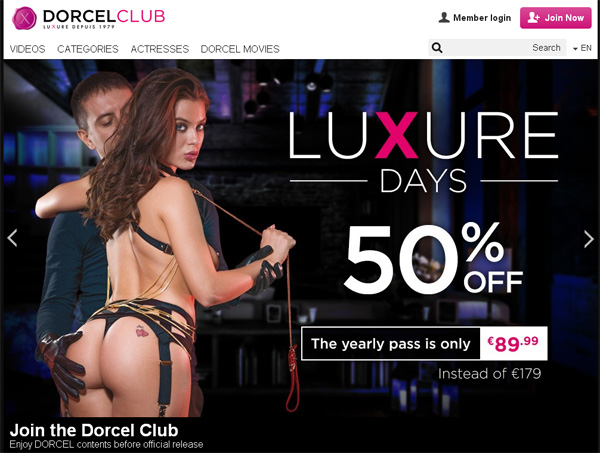 Access To Dorcel Club