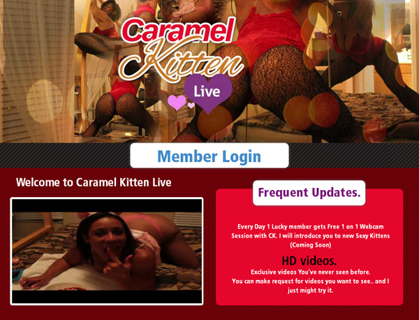 Caramelkittenlive.com New Videos