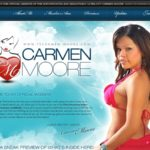 Carmen Moore Make Account