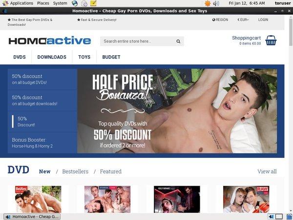 Homoactive Free Scene