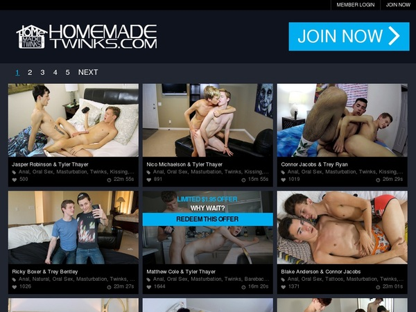 Home Made Twinks Renew Subscription