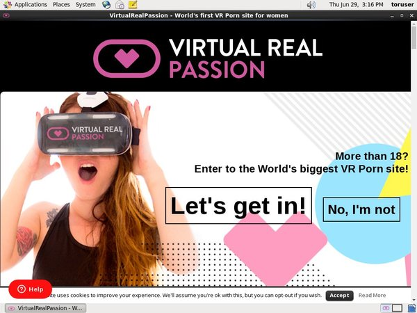 Virtualrealpassion.com Free Trial Acc