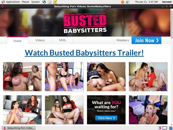 Busted Babysitters Full Com