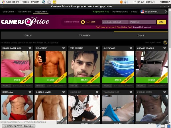Account Camera Prive Gay Free